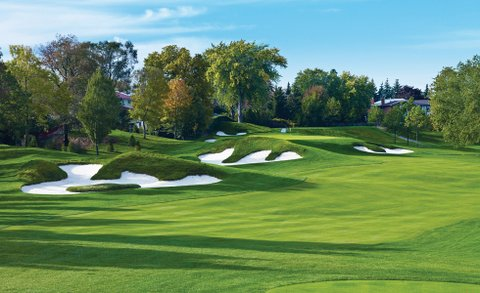 No. 12 at St. George's G&CC in Islington, Ontario.