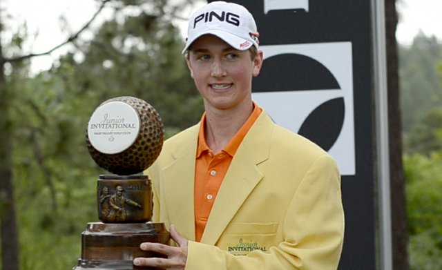 Zachary Olsen dons the yellow jacket as 2012 champion. He will defend his title at the 2013 Junior Invitational.