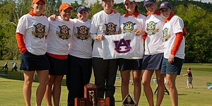 Sanz, Auburn women win SEC titles in Arkansas