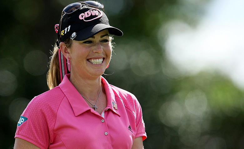 Paula Creamer during the final round of the CME Group Titleholders at Grand Cypress.