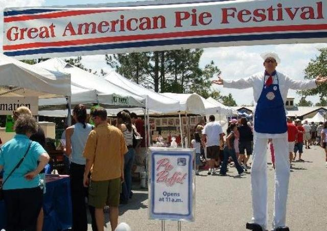 Pie Fest in Celebration April 28 and 29.