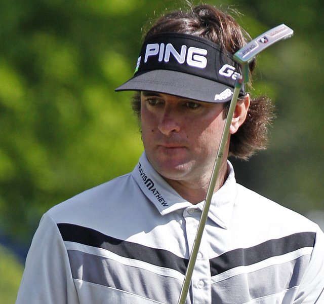 Bubba Watson during Round 1 of the Zurich Classic of New Orleans.