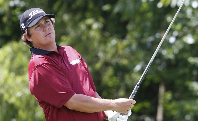 Jason Dufner during Round 2 of the Zurich Classic of New Orleans.