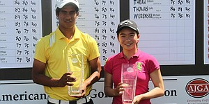 Fernandes, Liu win AJGA Vicky Hurst Championship