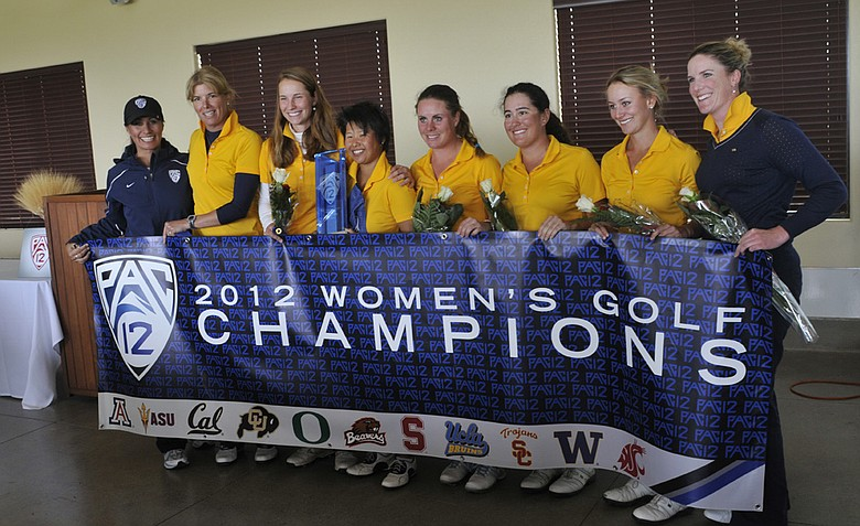 Cal held off a strong Pac-12 Championship field for its first conference crown since 2003.