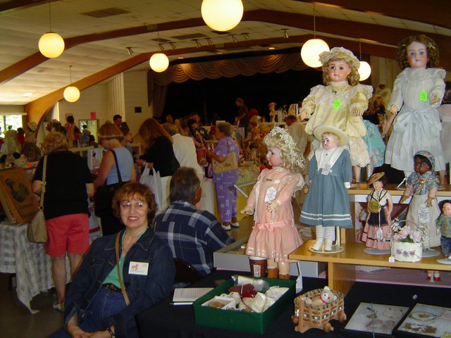 Doll Show and Sale from 10 a.m. to 4 p.m. on Saturday, May 5, at the Maitland Civic Center