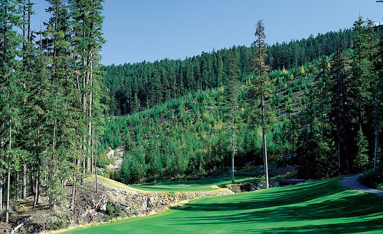 No. 3 at Fairmont Chateau Whistler Golf Club