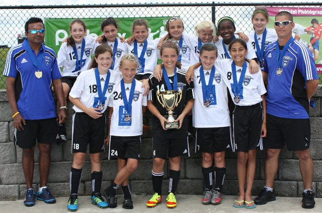 The Central Florida Krush U11 team won the Florida President's Cup.