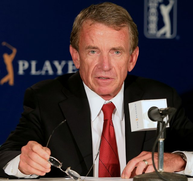 PGA Tour commissioner Tim Finchem