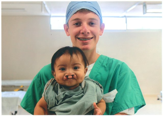 Trinity Prep student Miles Saffran raised $60,000 and served as surgical youth coordinator for cleft lip and palate repair for Florida Hospital in Mexico.