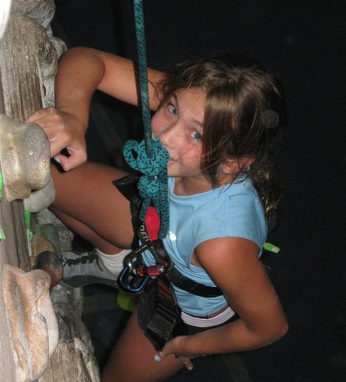The City of Oviedo offers rock climbing at its summer camps.