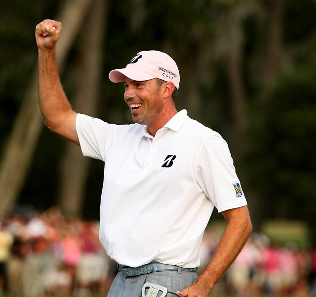 Matt Kuchar during the final round at The Players Championship at TPC Sawgrass.