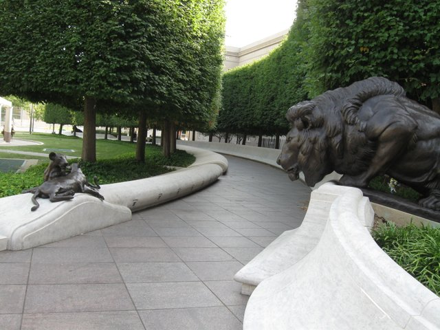 The National Law Enforcement Memorial in Washington, D.C.