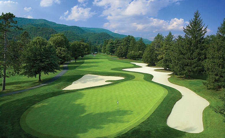 The course at Greenbrier Resort