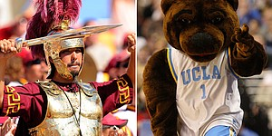 NCAA tale of the tape.: USC vs. UCLA