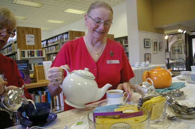 The Maitland Library hosts a tea on Sunday.