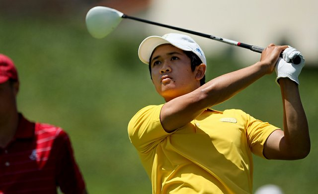 UCLA's Anton Arboleda during the final round of stroke play at the 2012 NCAA Championship.