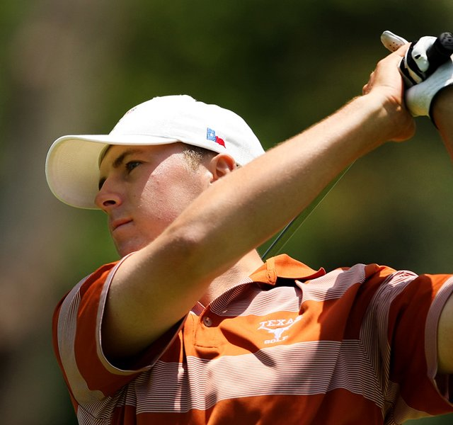 Jordan Spieth of Texas during semifinals of Match Play at the 2012 NCAA Championship. 