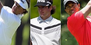U.S. Open tee times, pairings