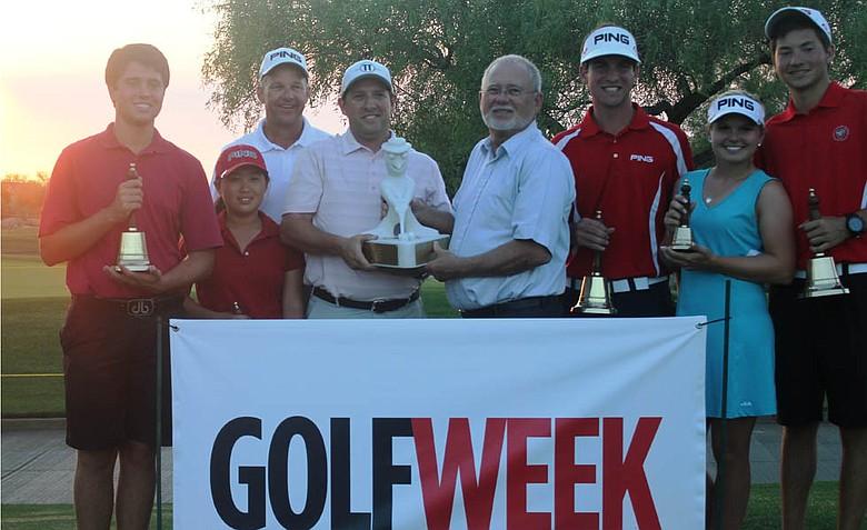 The PING Junior Interclub team from ASU Karsten, winner of the PJI's 2012 Arizona State Championship.