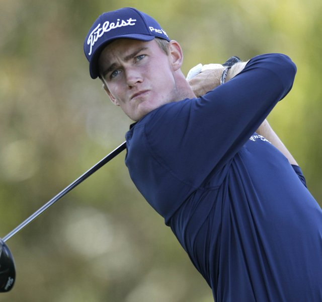 John Peterson during the first round of the U.S. Open Championship golf tournament Thursday, June 14, 2012, at The Olympic Club in San Francisco. Peterson&#39;s fourth place finish gave him an exemption into Q-School&#39;s second stage. 