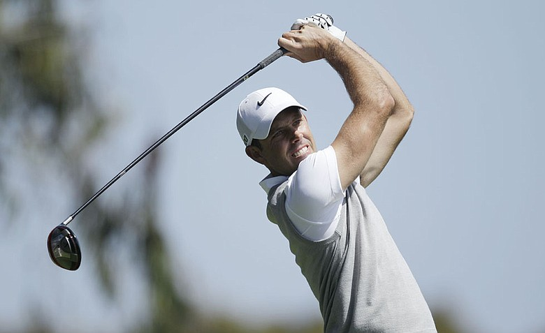 Charl Schwartzel, of South Africa, during the first round of the U.S. Open Championship.