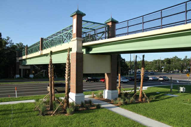 Seminole County recently completed a pedestrian bridge across Red Bug Lake Road in Oviedo.