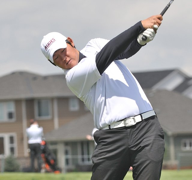 Justin Shin&#39;s victory at the Northeast Amateur is the biggest of his career.