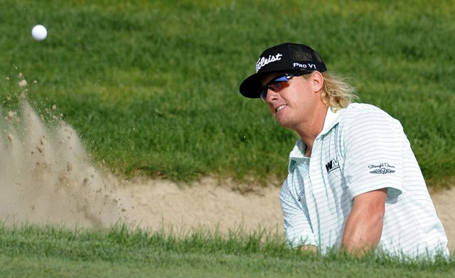 Charley Hoffman came up short in the final round of the Travelers Championship.