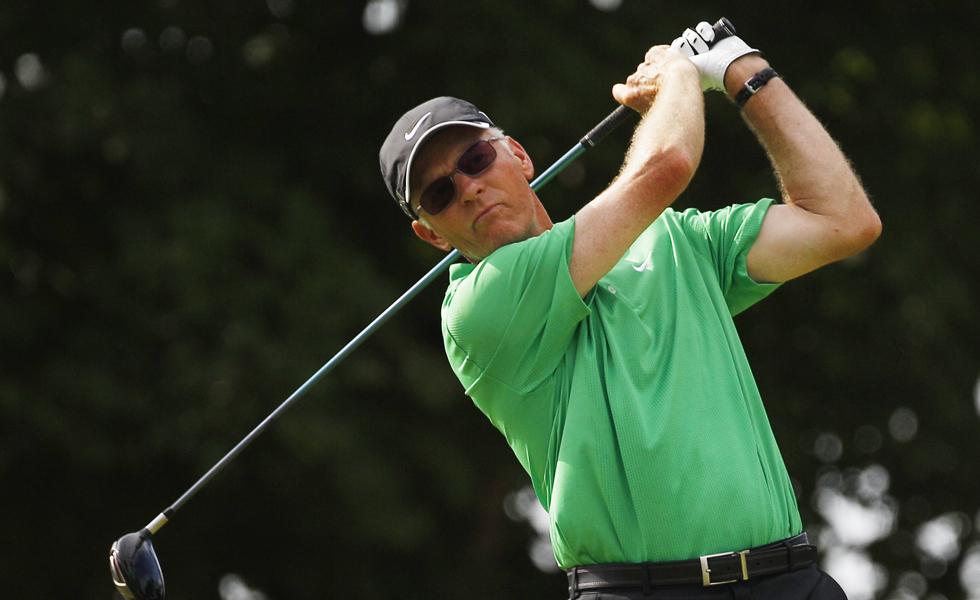 Jeff Coston started playing professional golf 35 years ago. He's in position to qualify for another PGA Championship and he's doing it by 'just trying to play golf.'