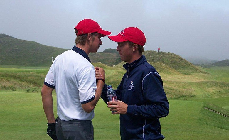 Patrick Rodgers (left) and Justin Thomas will be reunited again for the 2013 Palmer Cup. They will represent Team USA at Wilmington (Del.) CC.