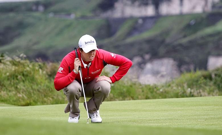 Rory McIlroy, Irish Open golf tournament 2012 at Royal Portrush GC.