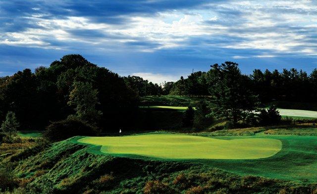 The sixth hole of Blackwolf Run Golf Course as seen on Sunday, September 19, 2010 in Kohler, Wis.