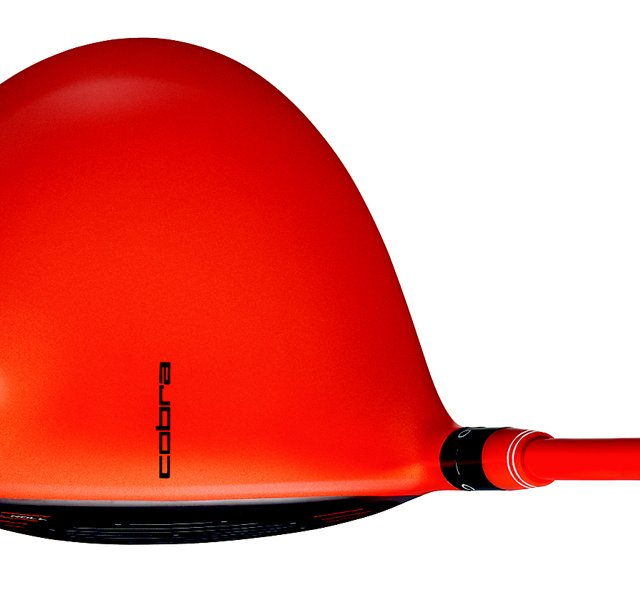 Cobra's new special edition orange AMP driver, inspired by Rickie Fowler, will be available Aug. 1. It will cost $499.