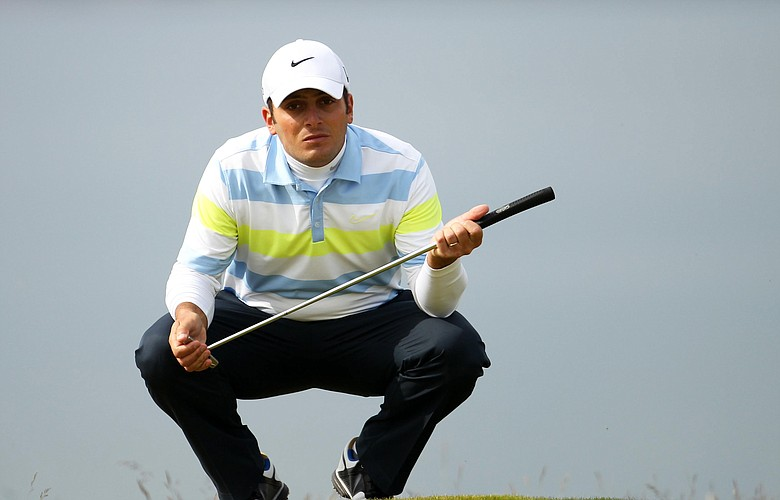 Francesco Molinari during the Scottish Open.