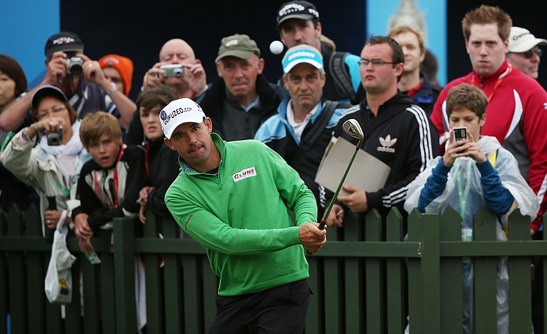 Padraig Harrington owns two Open Championship titles and is a player to watch this week at Royal Lytham.