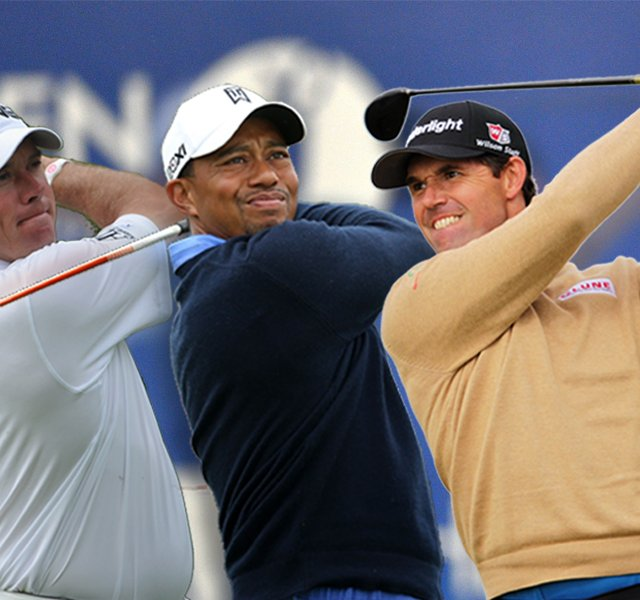 Lee Westwood, Tiger Woods and Padraig Harrington are three favorites from our experts.