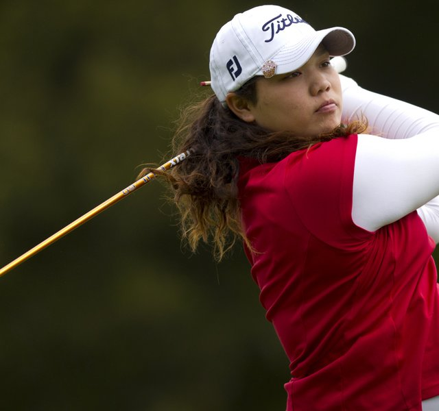Ariya Jutanugarn will face Casie Cathrea in the U.S. Girls&#39; Junior quarterfinals on Friday morning.