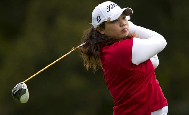 Ariya Jutanugarn will face Casie Cathrea in the U.S. Girls' Junior quarterfinals on Friday morning.