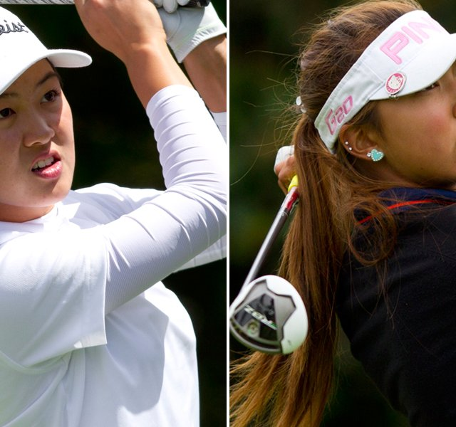 Minjee Lee, left, will take on Alison Lee in Saturday&#39;s final at the U.S. Girls&#39; Junior in Daly City, Calif.
