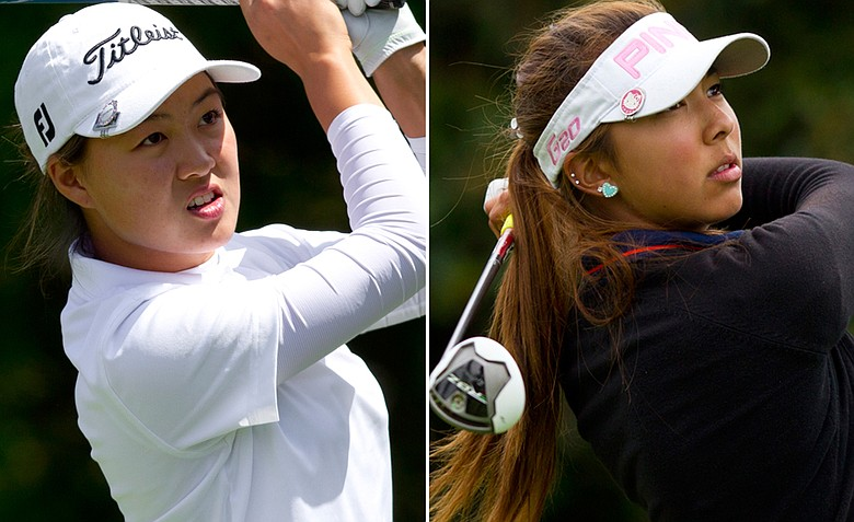 Minjee Lee, left, will take on Alison Lee in Saturday's final at the U.S. Girls' Junior in Daly City, Calif.