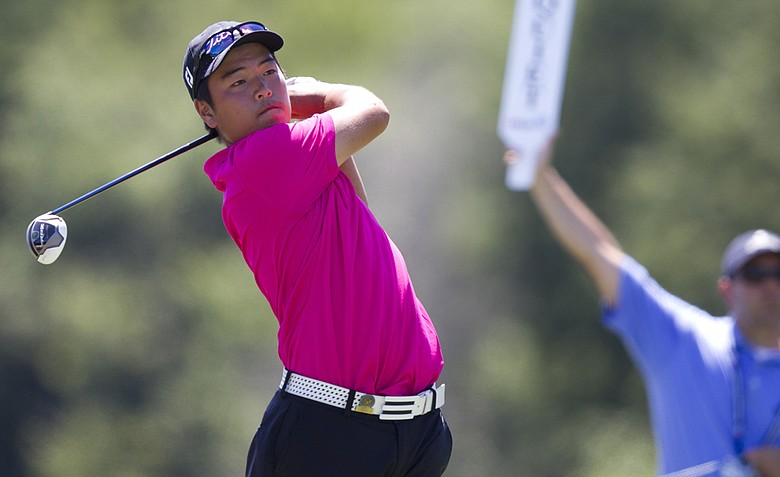 Andy Hyeon Bo Shim defeated Jim Liu, 4 and 3, to win the 2012 U.S. Junior Amateur at the Golf Club of New England in Stratham, N.H.
