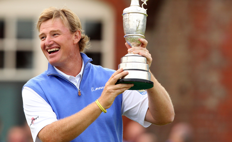 One of the key ingredients in Ernie Els' Open Championship win? He gave up alcohol.