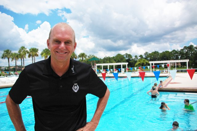 Three-time Olympic gold medal swimmer Rowdy Gaines is readying to blast off from his Longwood home to head to the London Olympic Games. This will be his sixth Olympics working as a commentator for swimming.