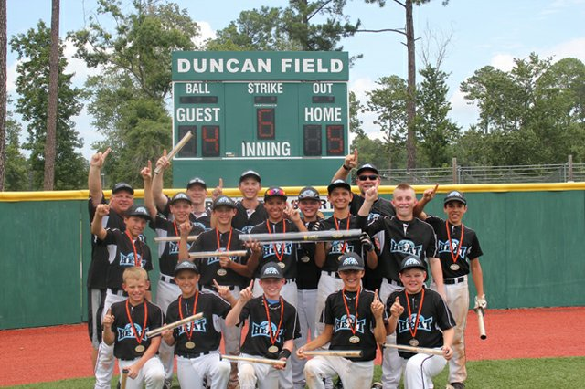 The Oviedo Heat won the Ripken Experience Big Kahuna Tournament July 20 in Myrtle Beach, SC.