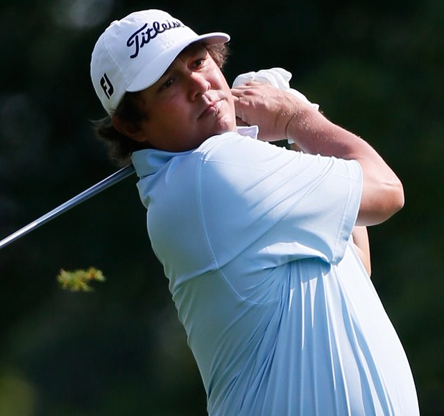 Jason Dufner plays a shot on the 11th fairway during the first round of the World Golf Championships-Bridgestone Invitational at Firestone Country Club South Course on August 2, 2012 in Akron, Ohio. 