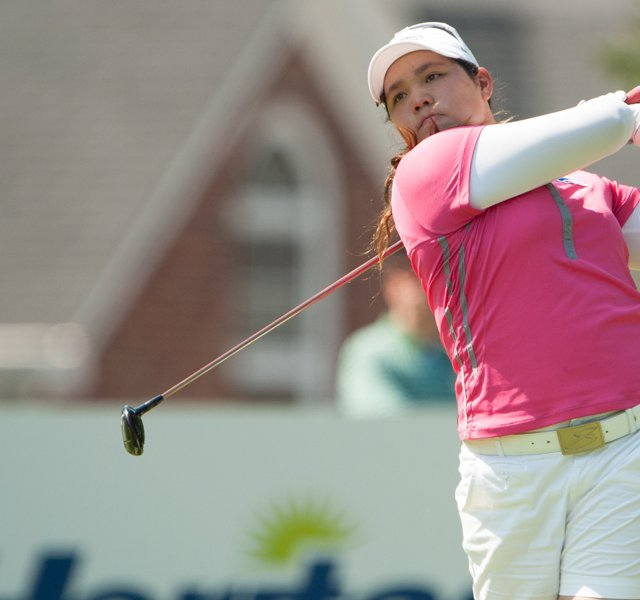 Ariya Jutanugarn fired a 5-under 67 to win the Junior PGA by three shots over Samantha Wagner.