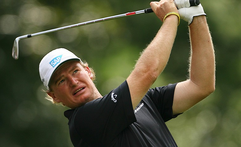 Ernie Els is paired with Webb Simpson and Bubba Watson in the first two rounds.