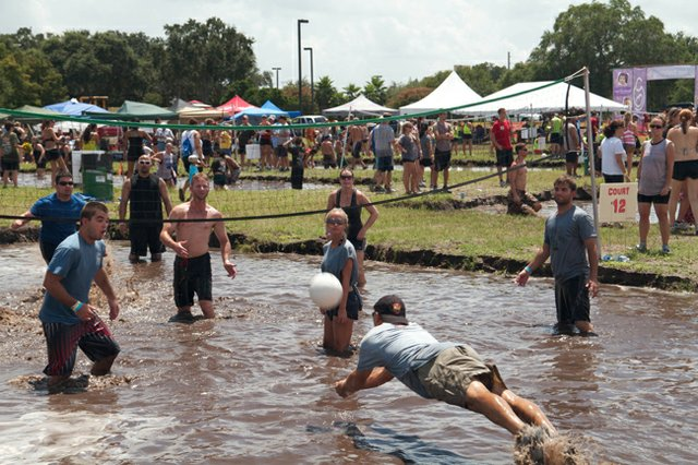 Mudd Volleyball returns to Orlando's Lee Vista Center on Saturday, Aug. 25.