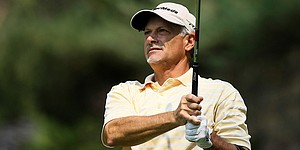 Hanzel, 55, keeping pace in match play